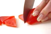 鮭と野菜のおろし和えの下準備4