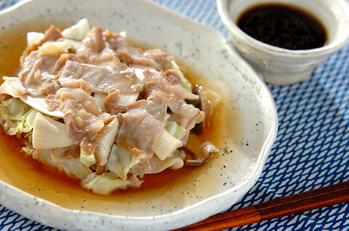豚とキャベツの蒸し煮