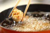 揚げシューマイのチリソース炒めの作り方1