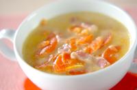 ニンジンたっぷりスープ