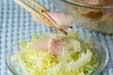 ハムと玉ネギのマリネの作り方2