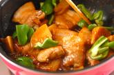 豚とタケノコの甘辛煮の作り方2