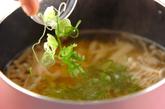 タケノコのヘルシースープの作り方2