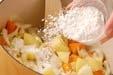 鮭のクリームシチューの作り方1