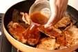 豚肉板コンショウガ焼きの作り方2
