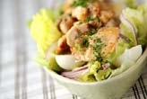 鶏肉とレタスのサラダ