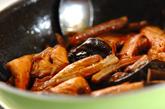 ブリのアラ炊きの作り方2