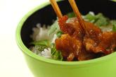 豚肉の照りマヨみそ丼の作り方3