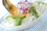 コンニャクの酢みそサラダの作り方1