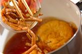 ひりょうずとゼンマイの煮物の作り方2