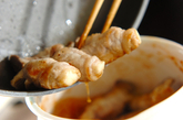エリンギの豚肉巻き甘酢あんの作り方4