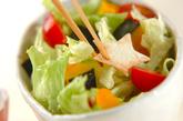 七夕の星空サラダの作り方2