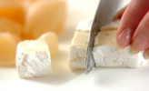 チーズピーチドリンクの作り方1