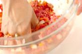 ゴーヤの肉詰めピカタの作り方1