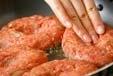 ゴボウ入りハンバーグの作り方3