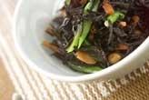 大豆とヒジキの煮物