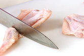 中華鶏粥の作り方1
