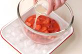 冷製シュゼット風クレープイチゴソースの作り方8