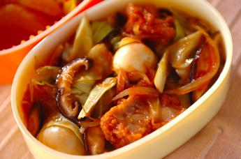 鶏唐と野菜の甘酢炒め