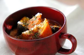 カボチャのスープ煮