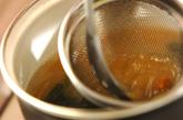 3色丼とワカメのみそ汁の作り方4