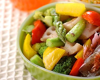 彩りゆで野菜サラダ