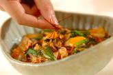 豚肉とキムチのトロミ煮の作り方3