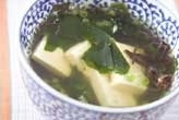豆腐とキクラゲのスープ
