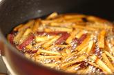 ショウガの黒糖イモケンピの作り方1