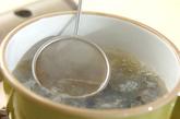 シジミのみそ汁の作り方1