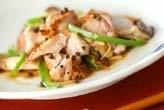 鶏肉の山椒風味ソテー