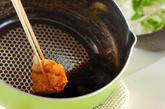 カリカリチキン丼の作り方2