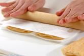 卵茶巾みそ汁の下準備1