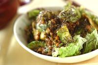 アボカド納豆サラダ