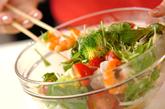 エビと冬野菜のサラダの作り方3