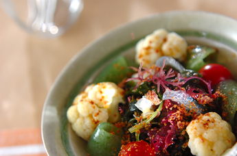海藻のサラダ