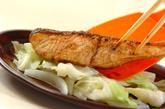 鮭のジンジャー照り焼きの作り方3
