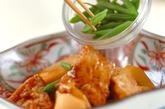 里芋と厚揚げのシンプル煮の作り方3