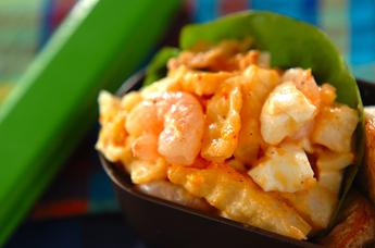ポテトと卵のチリマヨサラダ