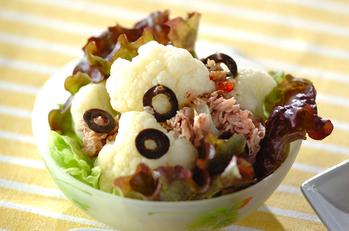 カリフラワーとツナのサラダ