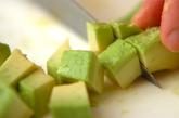 アボカド卵サラダの作り方1