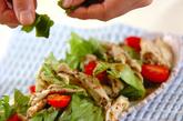 ささ身のサラダの作り方4
