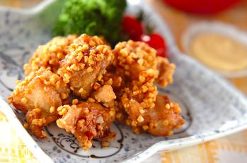 鶏肉のアーモンド揚げ