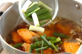 鮭のおろし煮の作り方2