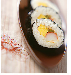 山くらげの巻き寿司