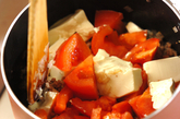 サッパリトマト中華ご飯の作り方2