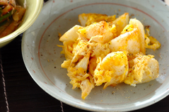 チキンと長芋の卵炒め