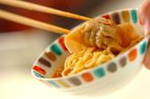 餃子入りキムチ鍋の作り方5