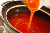 餃子入りキムチ鍋の作り方2