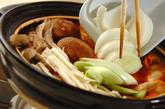 餃子入りキムチ鍋の作り方4